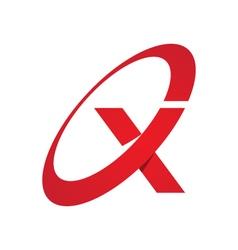 X letter logo vector