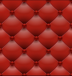 Red royal upholstery seamless background vector
