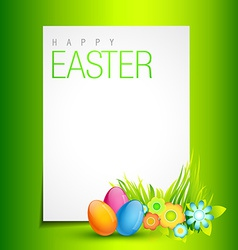 Beautiful easter design vector