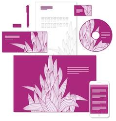 Identity grass pattern vector