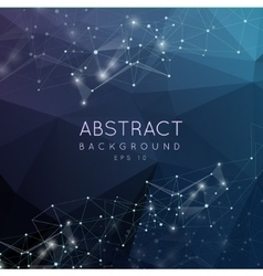 Abstract polygonal backgroun low poly design with vector