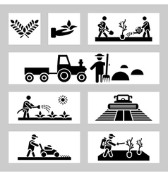 agriculture vector image vector image