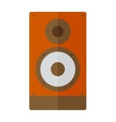 Column speaker vector image