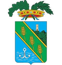 Latina Province vector image vector image