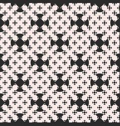 monochrome minimalist seamless pattern vector image vector image