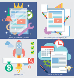 web icons set 2 vector image vector image