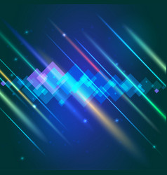 abstract bright motion background with blurred vector image