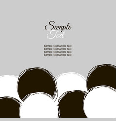Doodle pattern for printing round doodle patterns vector