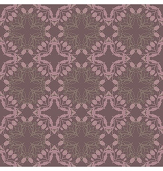 Purple floral wallpaper vector