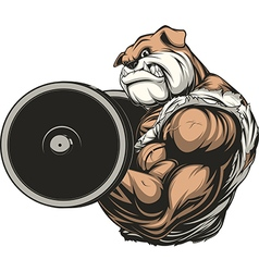 Strong dog vector