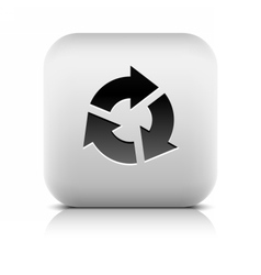Arrow sign rotation reset refresh reload icon vector