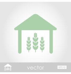 Barn icon vector
