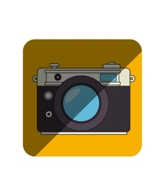 camera photographic retro style vector image