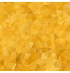 Mosaic Golden abstract templates vector image