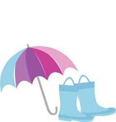 Rain gear vector
