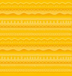Fun and cute childish stripe seamless pattern vector