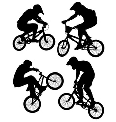 Cycling BMX vector image