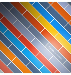 Abstract Retro Brick Background vector image