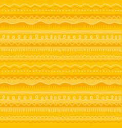 Fun and cute childish stripe seamless pattern vector