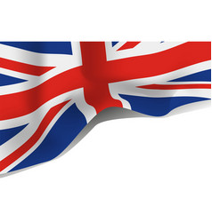great britain united kingdom flag vector image vector image