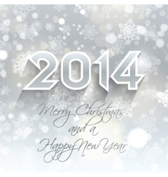 new year snowflake background 1710 vector image