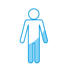 Pictogram man design vector