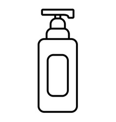 shampoo dispenser icon outline style vector image vector image