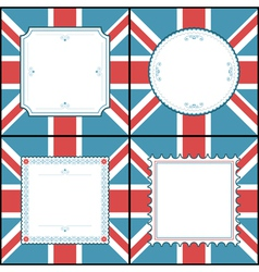 uk frames vector image