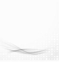 Transparent grey lines futuristic modern layout vector