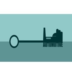 Concept of a key automotive vector