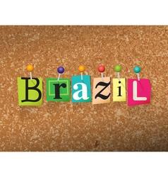 Brazil concept vector