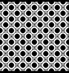 Circles seamless pattern old style fashion vector