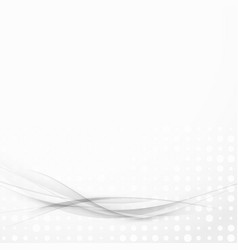 transparent grey lines futuristic modern layout vector image