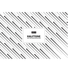 abstract pattern halftone dots rain vector image