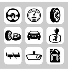 Auto parts vector image
