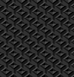 Black Seamless Texture Background vector image