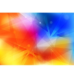 Mobile bokeh layout - abstract template vector image vector image
