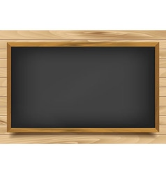 School nero board on wooden background vector