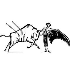 Bullfight vector