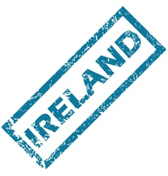 Ireland rubber stamp vector image vector image