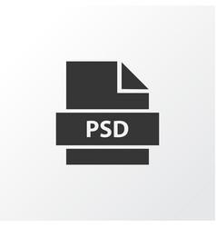 Psd icon symbol premium quality isolated vector