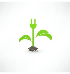 Eco green energy vector