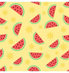Summer and watermelon vector