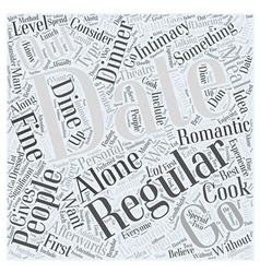 Regular dating word cloud concept vector