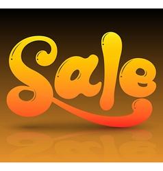 Sale text vector