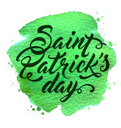 background for st patricks day vector image vector image
