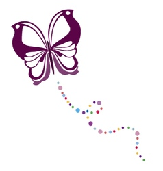 butterfly 4 vector image vector image