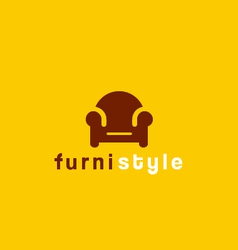 Furniture symbol vector image
