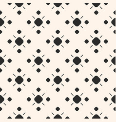 Monochrome ornamental seamless pattern vector