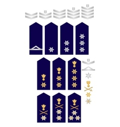Insignia of the Greek Police vector image